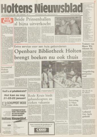 Holtens Nieuwsblad 1988-01-21