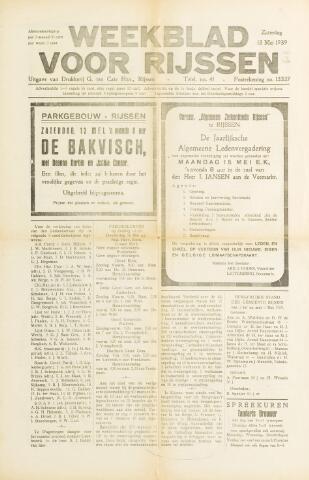 Weekblad voor Rijssen 1939-05-13