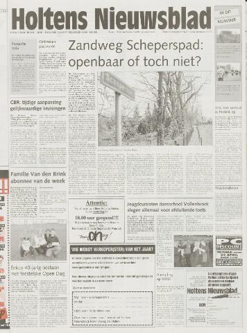 Holtens Nieuwsblad 2000-04-20