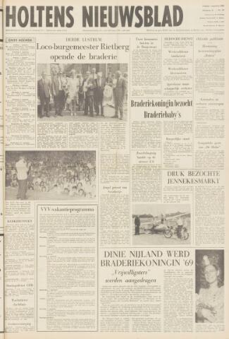 Holtens Nieuwsblad 1969-08-01
