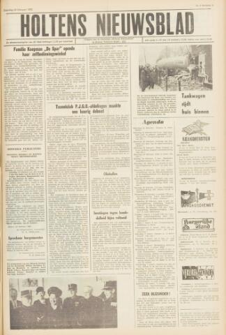 Holtens Nieuwsblad 1963-02-23