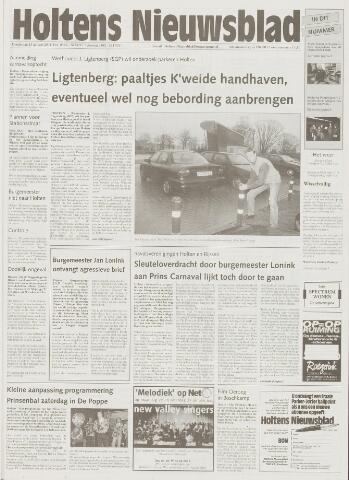 Holtens Nieuwsblad 2001-01-25