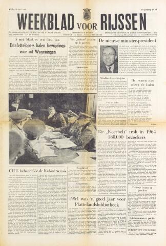 Weekblad voor Rijssen 1965-04-16