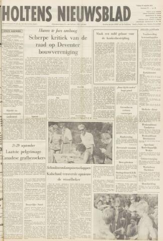 Holtens Nieuwsblad 1971-08-27
