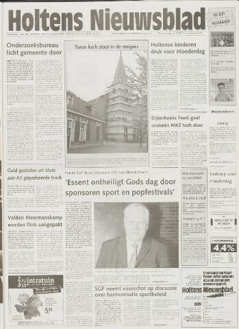 Holtens Nieuwsblad 2001-05-10