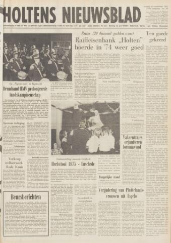 Holtens Nieuwsblad 1975-09-26
