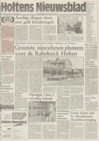 Holtens Nieuwsblad 1991-11-14
