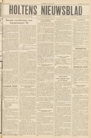 Holtens Nieuwsblad 1957-04-13