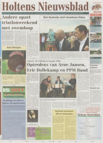 Holtens Nieuwsblad 2005-07-07