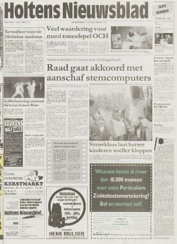 Holtens Nieuwsblad 1997-11-27