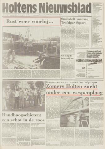 Holtens Nieuwsblad 1986-08-07