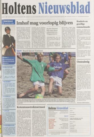 Holtens Nieuwsblad 2007-08-14