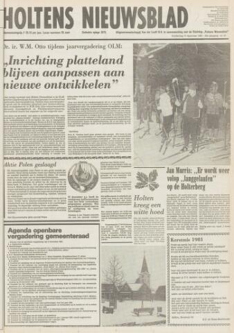 Holtens Nieuwsblad 1981-12-17