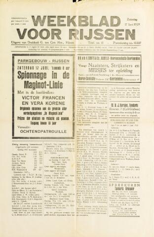 Weekblad voor Rijssen 1939-06-17