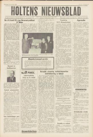 Holtens Nieuwsblad 1965-11-13