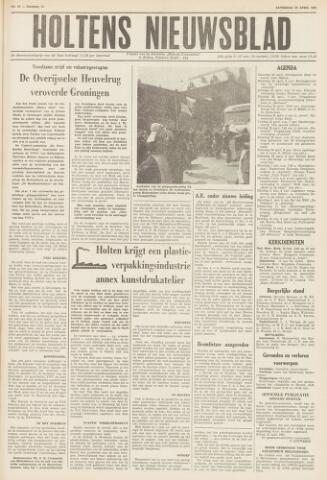 Holtens Nieuwsblad 1961-04-22