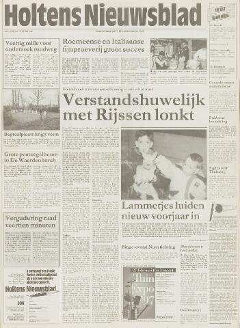 Holtens Nieuwsblad 1997-02-27