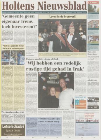 Holtens Nieuwsblad 2003-11-20