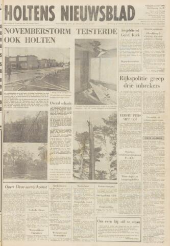Holtens Nieuwsblad 1972-11-17