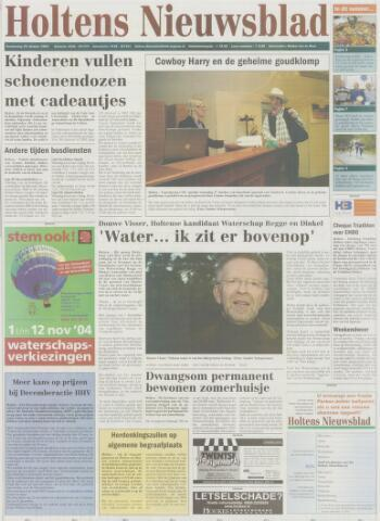 Holtens Nieuwsblad 2004-10-28