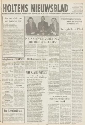 Holtens Nieuwsblad 1974-12-27