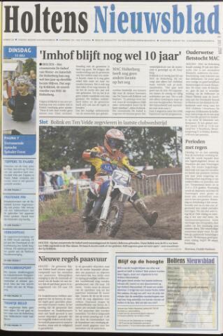 Holtens Nieuwsblad 2008-07-15