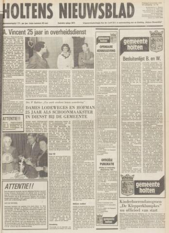 Holtens Nieuwsblad 1979-11-09