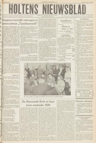 Holtens Nieuwsblad 1957-02-23