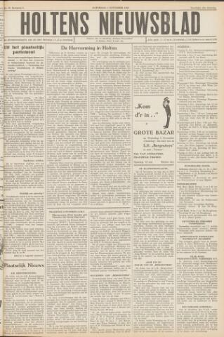 Holtens Nieuwsblad 1952-11-01
