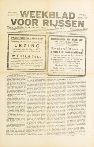 Weekblad voor Rijssen 1939-02-18