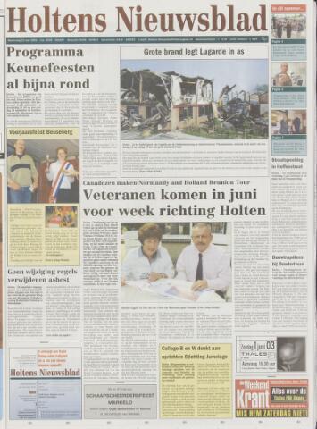 Holtens Nieuwsblad 2003-05-22