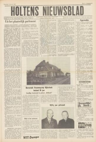 Holtens Nieuwsblad 1966-02-05