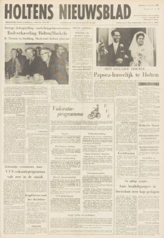 Holtens Nieuwsblad 1968-08-10