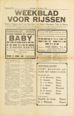Weekblad voor Rijssen 1933-11-04
