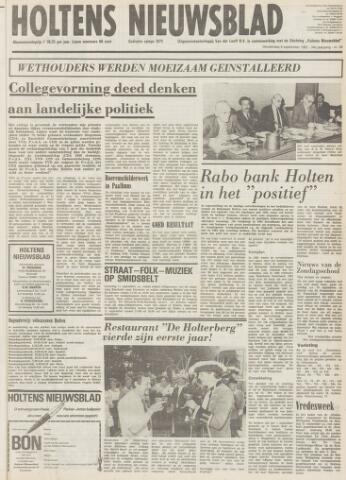 Holtens Nieuwsblad 1982-09-09