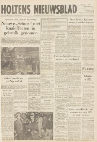 Holtens Nieuwsblad 1972-01-07