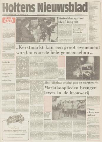 Holtens Nieuwsblad 1986-12-04