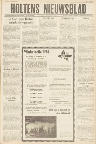 Holtens Nieuwsblad 1961-12-02