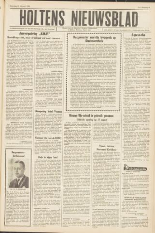 Holtens Nieuwsblad 1964-02-29