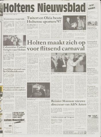 Holtens Nieuwsblad 1998-02-19