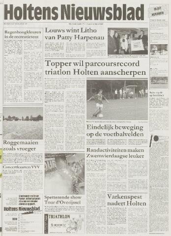 Holtens Nieuwsblad 1997-08-07
