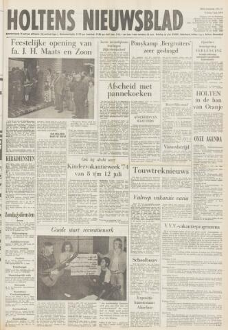Holtens Nieuwsblad 1974-07-05