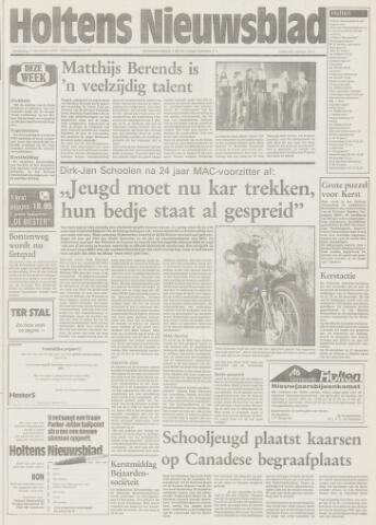 Holtens Nieuwsblad 1992-12-17