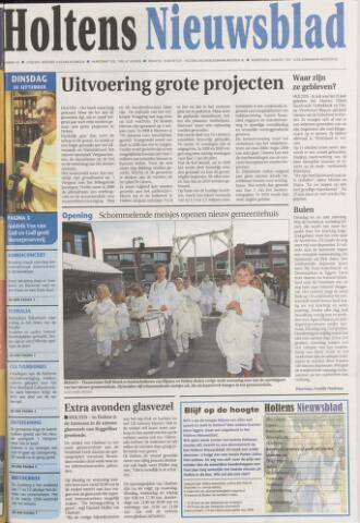 Holtens Nieuwsblad 2008-09-30