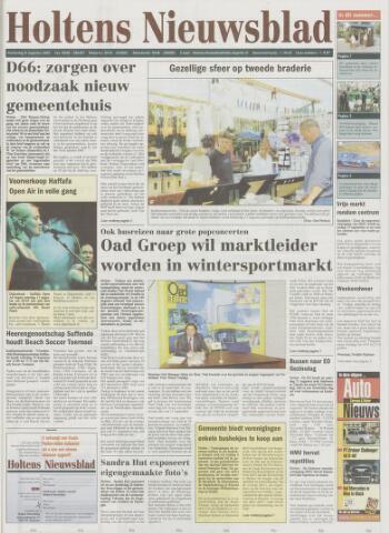 Holtens Nieuwsblad 2002-08-08