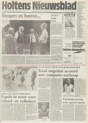 Holtens Nieuwsblad 1985-08-29