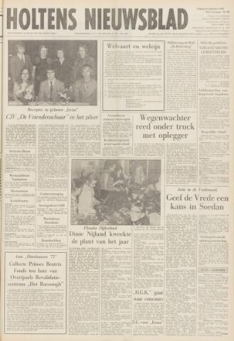 Holtens Nieuwsblad 1972-09-22