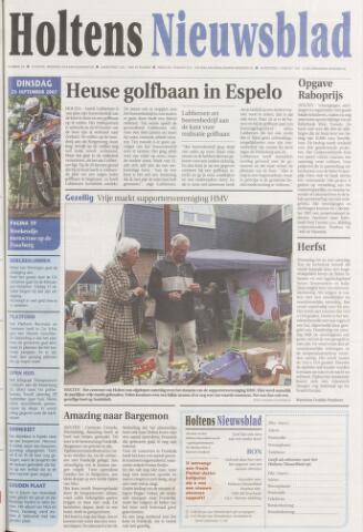 Holtens Nieuwsblad 2007-09-25