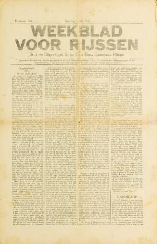 Weekblad voor Rijssen 1922-07-01