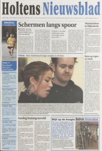 Holtens Nieuwsblad 2009-11-03